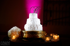 San Diego Wedding Cake Spotlighting