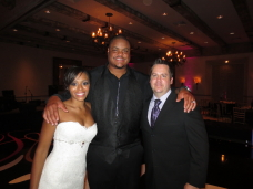 San Diego Wedding DJ with NFL Raiders couple