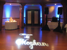 Monogram Projection - POSITIVE ENERGY - SAN DIEGO WEDDING DJ BLOG